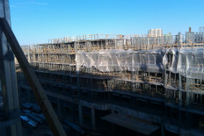 Panel Steel project McHenry Row
