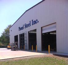 Panel Steel building exterior